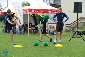 2. Fußalltennis-Turnier in Neschwitz